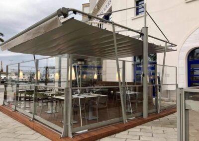 Proyecto terraza restaurante Tarragona