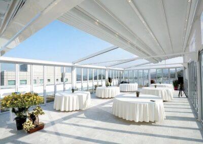 Proyecto terraza Hotel Barcelona